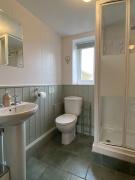 Curlew Cottage Bathroom, Hope Park Farm Holiday Cottages, Shropshire