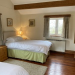 Heron Cottage twin room, Hope Park Farm Holiday Cottages