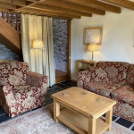Curlew Cottage Sitting Room, Hope Park farm Holiday Cottages, Shropshire