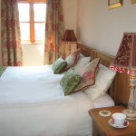 Curlew Cottage Double Bedroom, Hope Park Farm Holiday Cottages, Shropshire