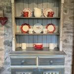 Curlew Cottage Kitchen, Hope Park farm Holiday Cottages, Shropshire